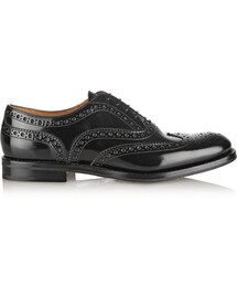 Church's「Church's The Burwood glossed-leather brogues(Shoes)」