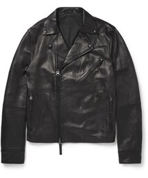 Acne Studios「Acne Studios Oscar Leather Biker Jacket(Riders jacket)」