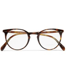 Oliver Peoples「Oliver Peoples Sir O'Malley Round-Framed Acetate Glasses(Glasses)」