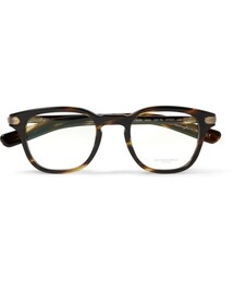Oliver Peoples「Oliver Peoples 25th Anniversary Square-Frame Optical Glasses(Glasses)」