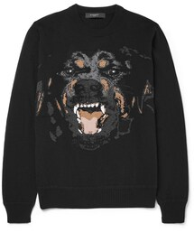 Givenchy「Givenchy Rottweiler-Intarsia Sweater(Sweatshirt)」