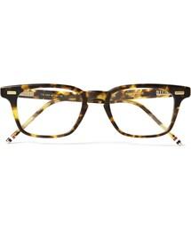 Thom Browne「Thom Browne D-Frame Matte-Acetate Glasses(Glasses)」