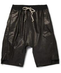 Rick Owens「Rick Owens Drop Crotch Leather Shorts(Pants)」