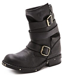 Jeffrey Campbell「Jeffrey Campbell Brit Wrap Strap Booties(Boots)」