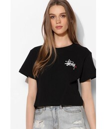 Stussy「Stussy For UO Logo Cropped Tee(T Shirts)」