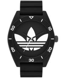 adidas「adidas Originals 'Santiago XL' Silicone Strap Watch, 50mm(Watch)」
