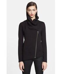 Helmut Lang「Helmut Lang 'Villous' Zip Front Sweatshirt(Sweatshirt)」