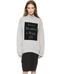 Acne Studios「Acne Studios Beta Flock Sweatshirt(Sweatshirt)」