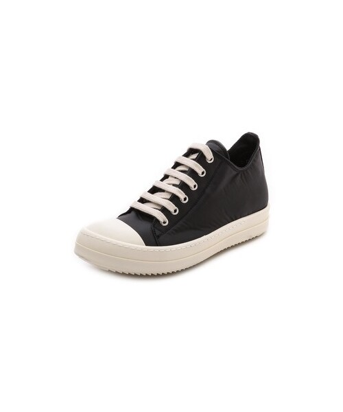 how to clean rick owens ramones