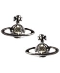Vivienne Westwood | Vivienne Westwood Black Crystal Orb Earrings()