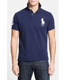Polo Ralph Lauren「Polo Ralph Lauren Custom Fit Cotton Mesh Polo(Polo)」