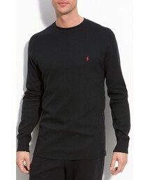 Polo Ralph Lauren「Polo Ralph Lauren Thermal Crewneck Lounge Shirt(Room wear)」