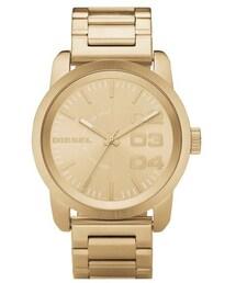 Diesel(ディーゼル)の「DIESEL® 'Franchise' Bracelet Watch, 46mm(腕時計)」