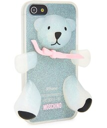 Moschino(モスキーノ)の「Moschino 'Teddy Bear Glitter' 3D Rubber iPhone 5 Case(生活家電/PCグッズ)」