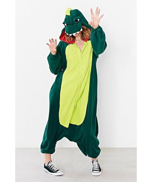 urban outfitterskigurumi dino costume wear