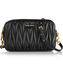 Miu Miu「Miu Miu Matelassé leather shoulder bag(Clutch)」