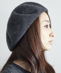 KIJIMA TAKAYUKI(キジマ タカユキ)の「KIJIMA TAKAYUKI ベレー帽(ハンチング・ベレー帽)」