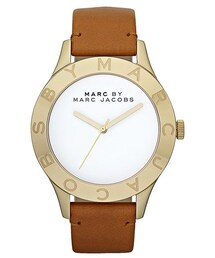 Marc by Marc Jacobs「MARC BY MARC JACOBS 'Large Blade' Leather Strap Watch, 40mm(Watch)」