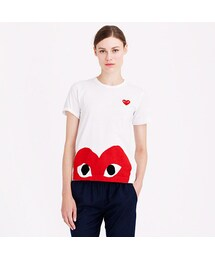 Comme des Garcons「PLAY Comme des Garcons® peeking heart tee(T Shirts)」