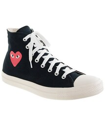 Comme des Garcons「Unisex PLAY Comme des Garcons® for Converse® high-top sneakers(Sneakers)」