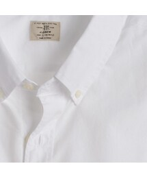 J.Crew「Slim Secret Wash shirt in white(Shirts)」