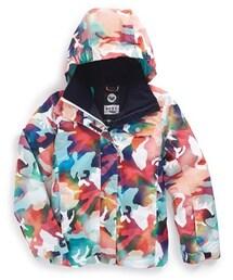 Roxy「Roxy 'Jetty Girl' Print Waterproof DRY-FLIGHT Snowboard Jacket (Big Girls)(Outerwear)」