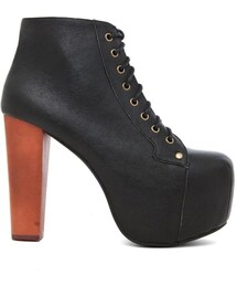 Jeffrey Campbell「Jeffrey Campbell Lita Platform Lace Up Boot(Boots)」