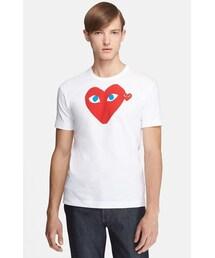 Comme des Garcons「Comme des Garçons 'Play' Heart Face Graphic T-Shirt(T Shirts)」