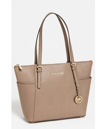 MICHAEL Michael Kors「MICHAEL Michael Kors 'Jet Set' Leather Tote(Tote)」