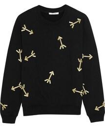 Carven「Carven Embroidered jersey sweatshirt(Sweatshirt)」