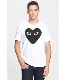 Comme des Garcons「Comme des Garçons 'Heart Face' Graphic T-Shirt(T Shirts)」