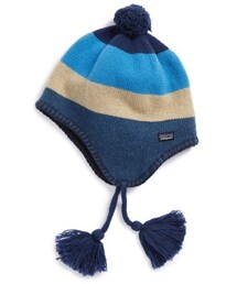 Patagonia(パタゴニア)の「Patagonia 'Woolly' Merino Wool Blend Hat (Big Boys)(ベビーカー用品)」
