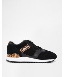 adidas「Adidas ZX Contemp Animal Print Sneakers - Black(Sneakers)」