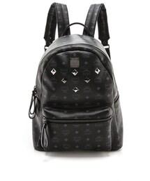 MCM「MCM Stark Medium Sprinkle Stud Backpack(Baby goods)」
