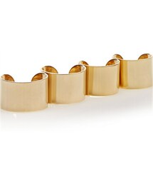 Maison Martin Margiela「Maison Martin Margiela Set of four gold-plated rings(Ring)」