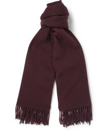 Acne Studios「Acne Studios Canada Oversized Brushed-Lambswool Scarf(Gloves)」