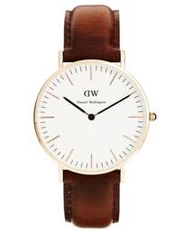Daniel Wellington「Daniel Wellington Classic Bristol Watch - Brown(Jewelry)」