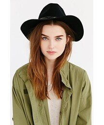 Urban Outfitters「Long Brim Fedora(Hats)」