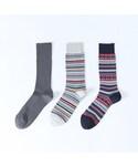 靴下屋 | メンズ 人気のカジュアルソックス 3足セット(ソックス・靴下)