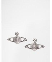 Vivienne Westwood「Vivienne Westwood Orb Earrings - Silver(Jewelry)」