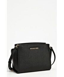 MICHAEL Michael Kors「MICHAEL Michael Kors 'Medium Selma' Saffiano Leather Crossbody Bag(Shoulderbag)」