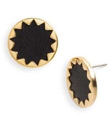 House Of Harlow「House of Harlow 1960 Sunburst Button Earrings(Pierces (both ears))」