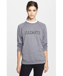 Rodarte「Rodarte 'Radarte' Barbed Wire Print Crewneck Sweatshirt(Knitwear)」