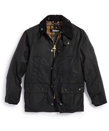 Barbour「Barbour 'Classic Bedale' Waterproof Waxed Cotton Jacket (Big Boys)(Outerwear)」