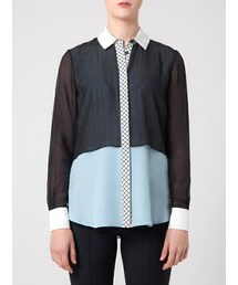 Jonathan Simkhai「Double Layer Silk Blouse(Other tops)」