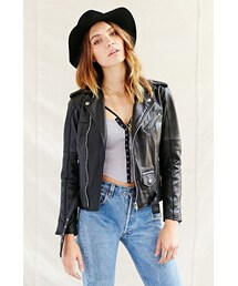 Urban Outfitters「Urban Renewal PeleCheCoco Leather Biker Jacket(Riders jacket)」