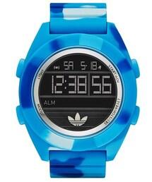 adidas「adidas Originals 'Calgary' Camouflage Silicone Digital Watch, 50mm(Watch)」