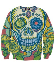 Mr. GUGU & Miss GO「Creepy Skull sweater(Others)」