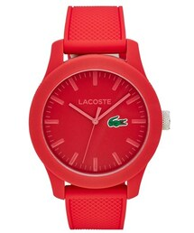 Lacoste「Lacoste Round Silicone Strap Watch, 43mm(Watch)」