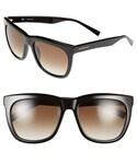 Givenchy | Givenchy 57mm Oversized Retro Sunglasses(Sunglasses)